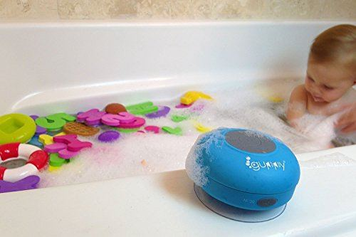 Child safe shower speaker.